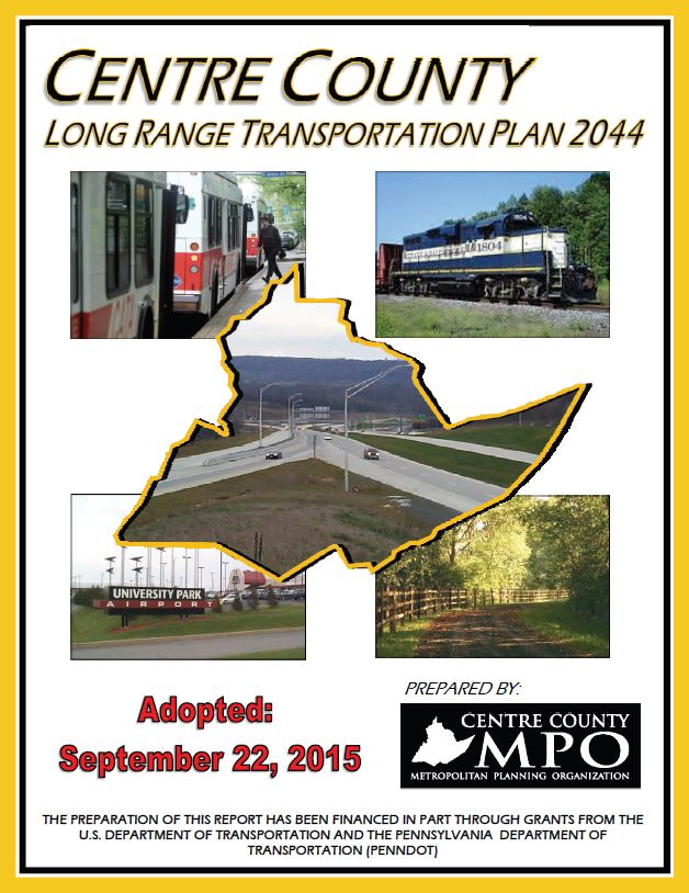 Centre County Long Range Transportation Plan 2044 Cover
