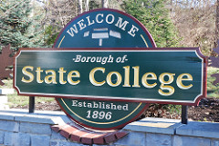 State College Sign