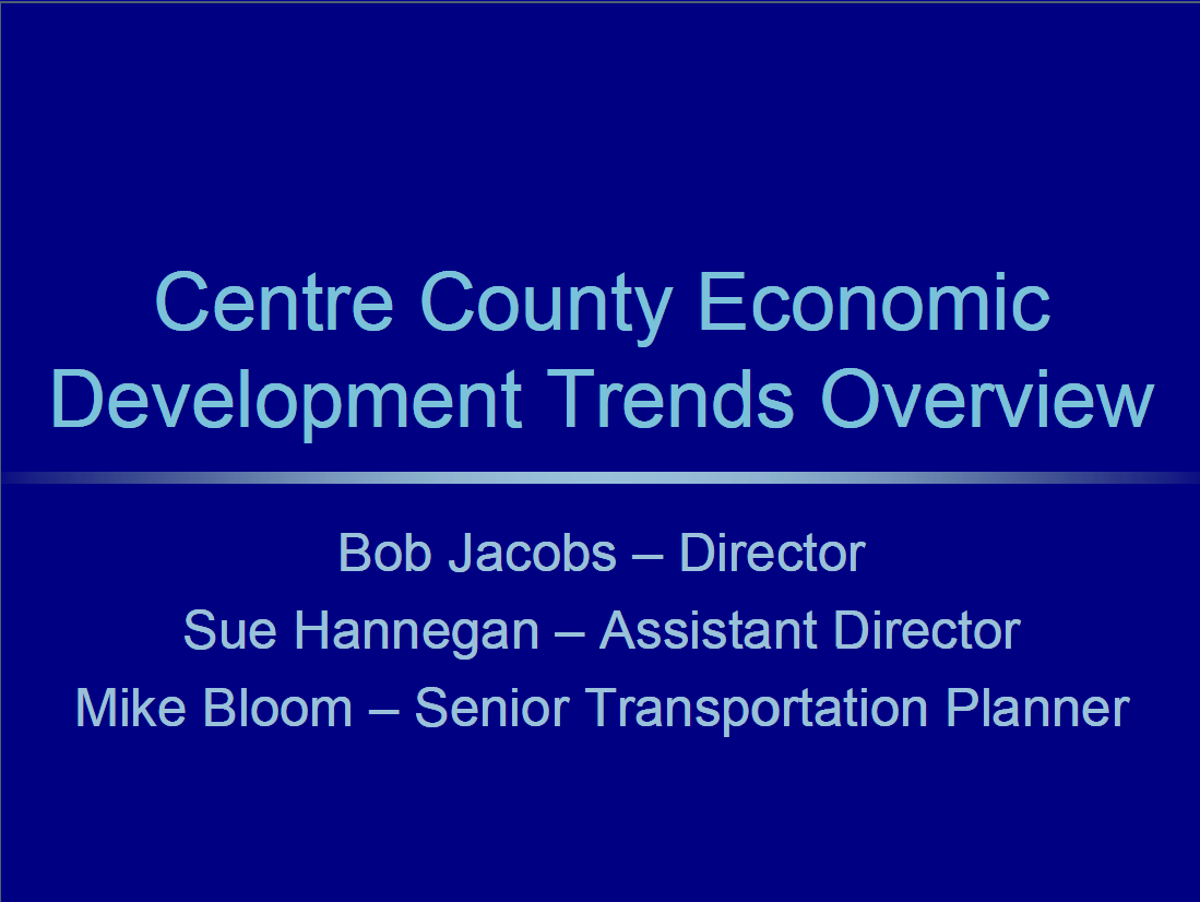Economic Trends Overview